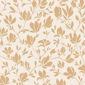 Flora - Mustard on Cream