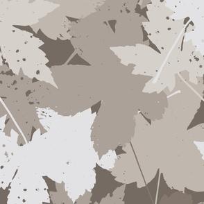 Blaetter Herbstboden groß