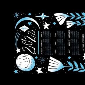 Night & floral 2022 calendar