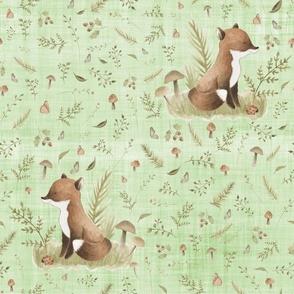 fox green linen
