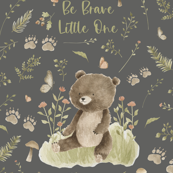 26x36 be brave little bear