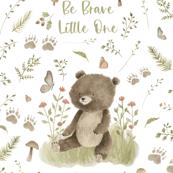 26x36 be brave bear