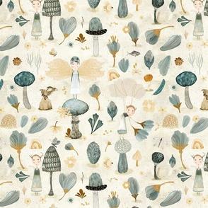 Micro Flora & Fauna cream {small}