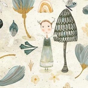 Micro flora and Fauna cream {large}