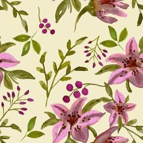 Pink Tiger Lilies Medium