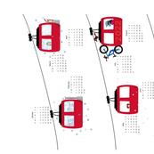 Alpine Cable Car 2022 Calendar