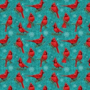 Northern Cardinals Teal