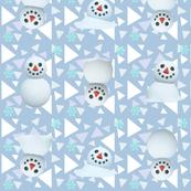 ACNH Snowboy Winter Fabric