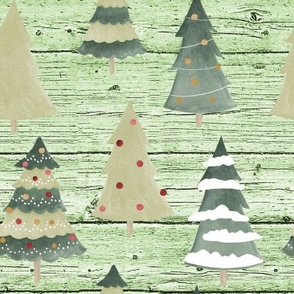 tree green wood bg