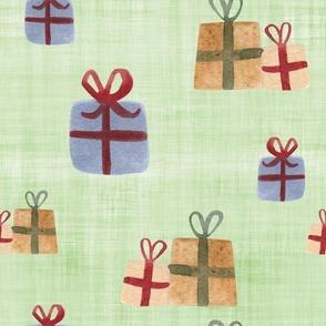 present green linen