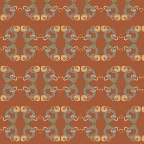 Copper Chain  4 on Rust