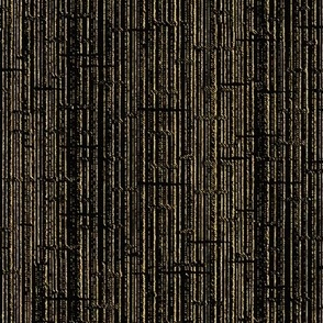 GOLD ON BLACK VERTICAL TEXTURE