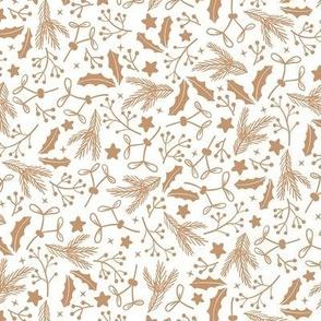 Sugar Plum Fairy Winter Flora White / Small Scale