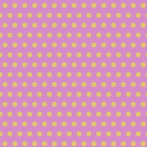 Cream Gold Polka Dots Orchid Background