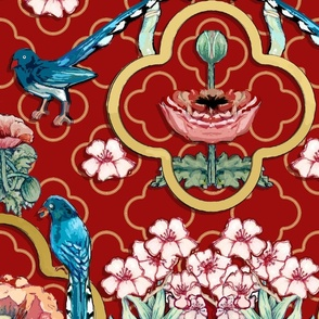 Chinoiserie LG Red