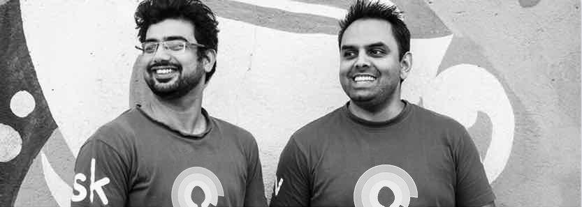 Our Founders, Kishan Vasani and Sai Sreenivas