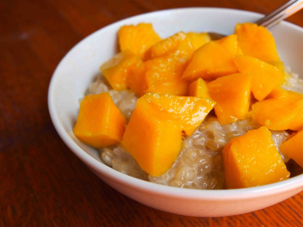 Coconut Sticky Rice with Mango- by Kendra Valkema