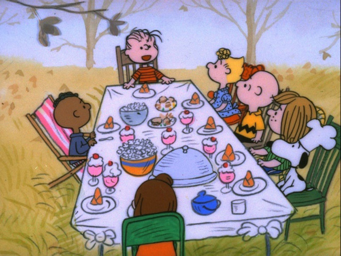 "Photo courtesy of ""A Charlie Brown Thanksgiving"""