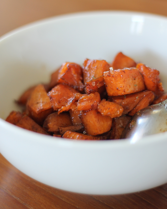 Brown Sugar Roasted Sweet Potatoes