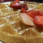 Russell House Strawberry Waffles