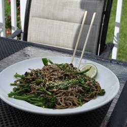Rapini Noodle Bowl