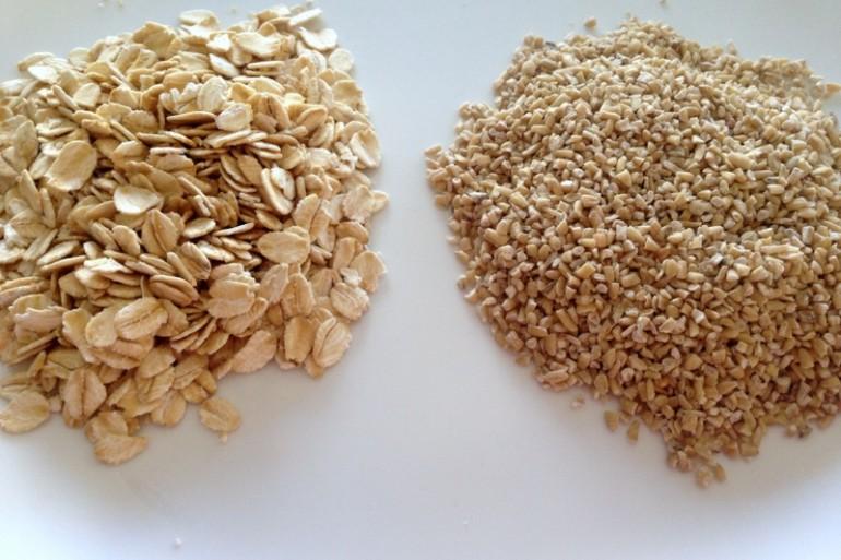 food fight rolled oats vs steel cut oats