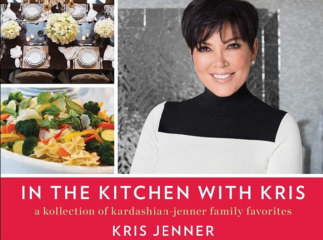 Kris Jenner Launches a Kardashian Kookbook