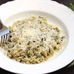 Creamy Spinach and Mushroom Risotto
