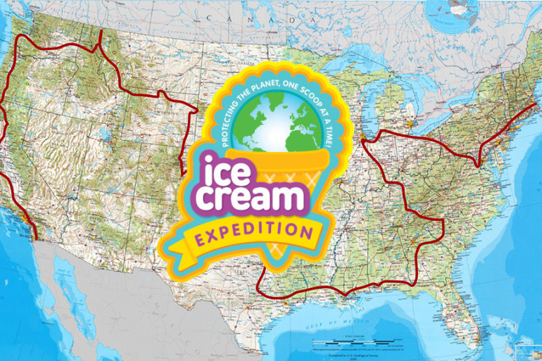 Ice Cream Truck Travels Nation with Free Ice Cream, For A Worthy Cause