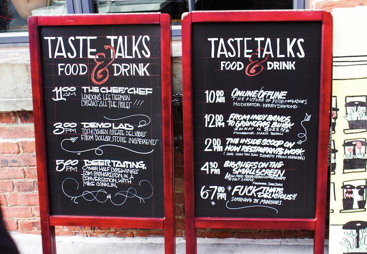 2014 Taste Talks Brooklyn Recap