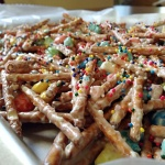 White Chocolate Lucky Charm Pretzel Mash