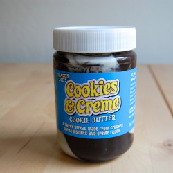 "Trader Joe's Introduces New ""Cookies and Creme"" Cookie Butter"