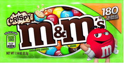 Crispy M&M's return