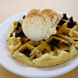 Dining Hall Stuffed Waffles