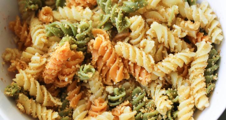 Easy Sunday Night Dinner: Breadcrumb Penne Pasta