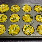 Squash Feta Muffins