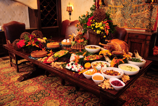 Avoid awkward silences at thanksgiving dinner with these facts How to set a thanksgiving dinner table
