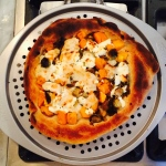 Squash, Brussels Sprouts and Goat Cheese Galette