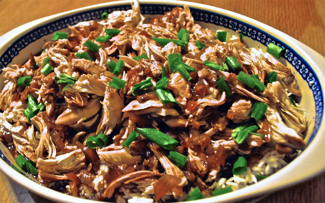 Effortless Slow Cooker Honey Garlic Chicken