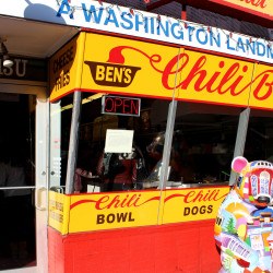 I Have a Dream of Nomming on Half-Smokes at Ben's Chili Bowl