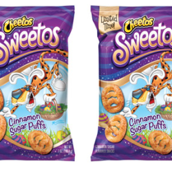 Cheetos Releases New Cinnamon-Sugar Snack Puffs Called 'Sweetos'