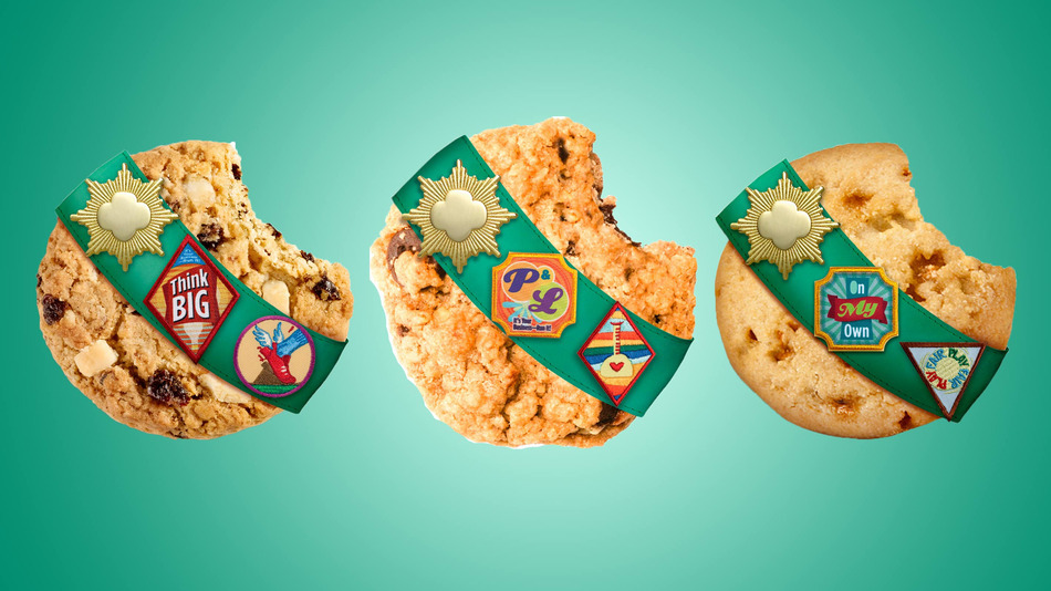 girl scouts release three new cookies including gluten