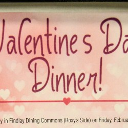 Valentine's Dinner for the Financially Impaired Freshman