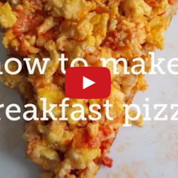 Pump Up Your Morning With This Breakfast Pizza Recipe