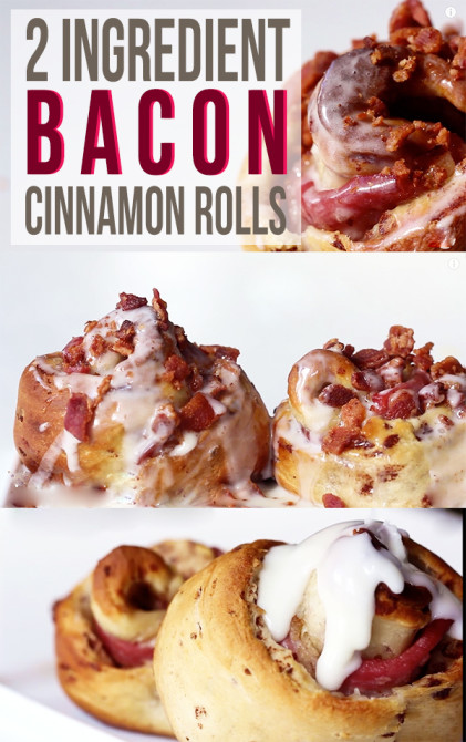 bacon cinnamon roll