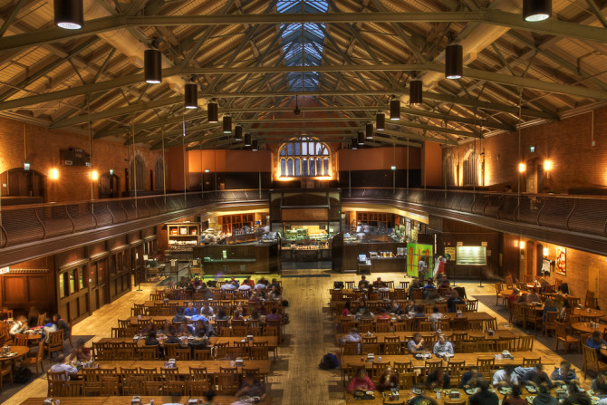 Your go to guide for college dining halls across north america for U of t dining hall
