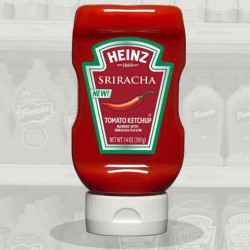 Heinz Is Cranking Up The Heat With Sriracha Flavored Ketchup