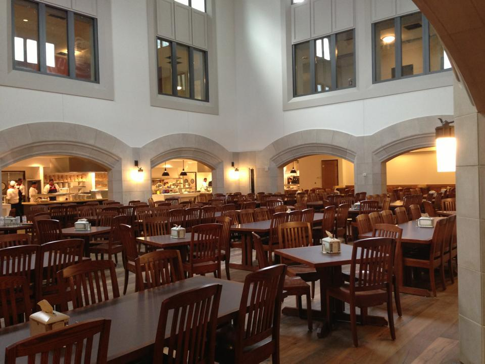 best college dining halls