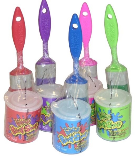 Paint Brush Powder Candy