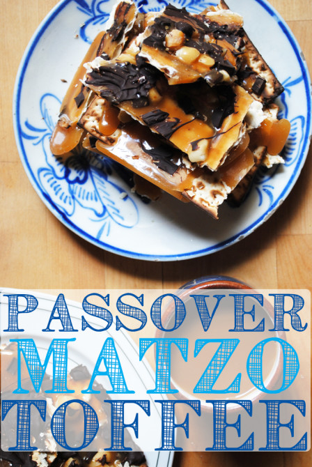 Matzo Toffee Recipe